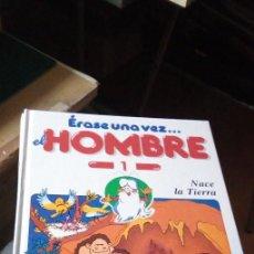 Libros de segunda mano: ERASE UNA VEZ EL HOMBRE PLANETA-AGOSTINI 20 VOLUMENES. Lote 233970440