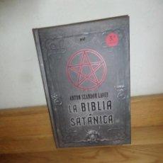 Libros de segunda mano: LA BIBLIA SATANICA - ANTON SZANDOR LAVEY - DISPONGO DE MAS LIBROS. Lote 234170635