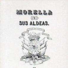 Libros de segunda mano: MORELLA Y SUS ALDEAS - TOMO IV. Lote 234277080