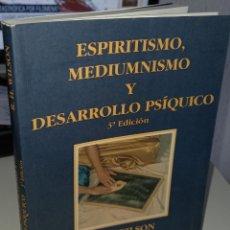 Livros em segunda mão: ESPIRITISMO, MEDIUMNISMO Y DESARROLLO PSÍQUICO - WILSON, R.H.. Lote 234299500