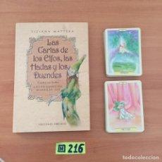 Libros de segunda mano: LAS CARTAS DE LOS ELFOS, LAS HADAS Y LOS DUENDES + BARAJA (CARTOMANCIA). Lote 234339620