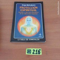 Libros de segunda mano: PROTECCIÓN ESPIRITUAL. Lote 234399330