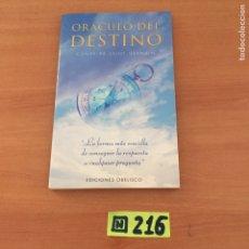 Libros de segunda mano: ORÁCULO DEL DESTINO. Lote 234399490