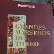 Libros de segunda mano: LIBRO GRANDES MAESTROS DEL TOREO. Lote 234405465