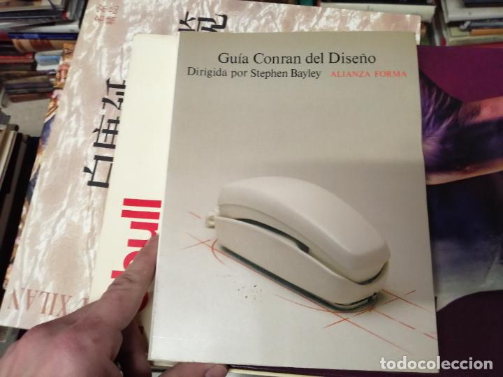 Libros de segunda mano: GUÍA CONRAN DEL DISEÑO . STEPHEN BAYLEY. ALIANZA EDITORIAL. 1ª EDICIÓN 1992 . ARTE,MUEBLES, MÁQUINAS - Foto 2 - 234407910