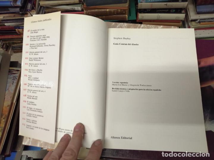 Libros de segunda mano: GUÍA CONRAN DEL DISEÑO . STEPHEN BAYLEY. ALIANZA EDITORIAL. 1ª EDICIÓN 1992 . ARTE,MUEBLES, MÁQUINAS - Foto 3 - 234407910