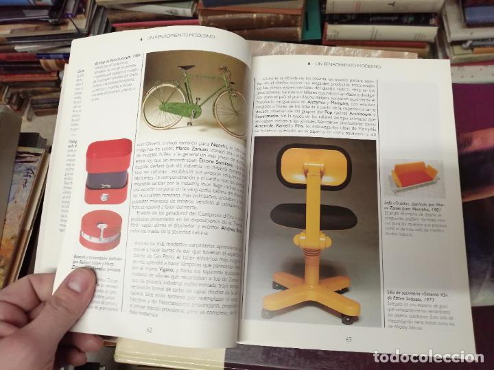 Libros de segunda mano: GUÍA CONRAN DEL DISEÑO . STEPHEN BAYLEY. ALIANZA EDITORIAL. 1ª EDICIÓN 1992 . ARTE,MUEBLES, MÁQUINAS - Foto 10 - 234407910
