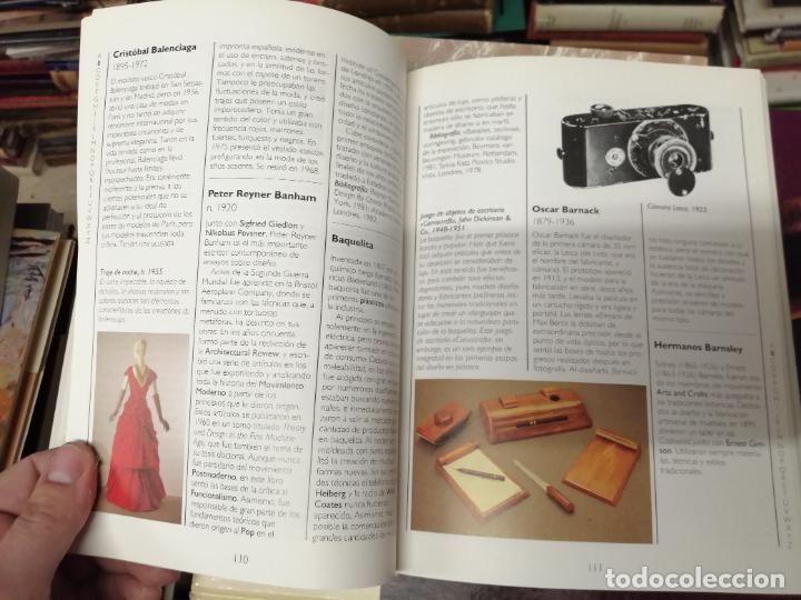 Libros de segunda mano: GUÍA CONRAN DEL DISEÑO . STEPHEN BAYLEY. ALIANZA EDITORIAL. 1ª EDICIÓN 1992 . ARTE,MUEBLES, MÁQUINAS - Foto 12 - 234407910