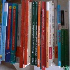 Libros de segunda mano: LOTE DE MÁS DE 50 LIBROS INFANTILES Y JUVENILES - ALGUNO EN INGLÉS - MUY BUEN ESTADO GENERAL. Lote 234496930