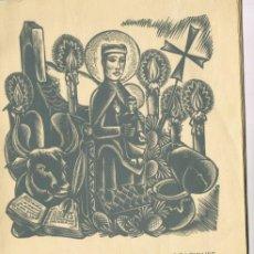 Libros de segunda mano: 1 EXPOSICIÓN DE GOIGS DE LAS ADVOCACIONES DE SANTA MARÍA DE NURIA Y SANT GIL Y SANT BERNAT 1958. Lote 234528885