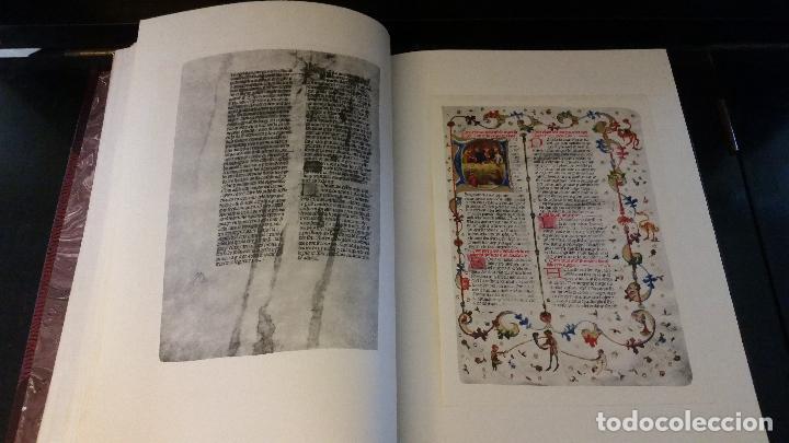 Libros de segunda mano: 1950 - Libre del Consolat de Mar. Reproducción del manuscrito de Valencia - ENCUADERNACIÓN - Foto 4 - 234568500
