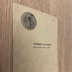 Livros em segunda mão: ALFONSO II DEL CASTO (DE SU VIDA Y DE SU OBRA) - OVIEDO - 1942. Lote 234627735