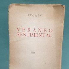 Libros de segunda mano: LIBRO VERANEO SENTIMENTAL AZORÍN LIBRERIA GENERAL ZARA GOZA. Lote 234662610