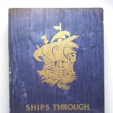 Libros de segunda mano: SHIPS THROUGH THE AGES. MICHELE VOCINO. AÑO 1951. 700 ILUSTRACIONES DE BARCOS A TRAVÉS DE LOS SIGLOS. Lote 234819535