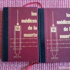 Libros de segunda mano: LOS MEDICOS DE LA MUERTE. VOLUMEN 1, 2 Y VOL 3. CIRCULO DE AMIGOS DE LA HISTORIA. 1984.. Lote 234825000