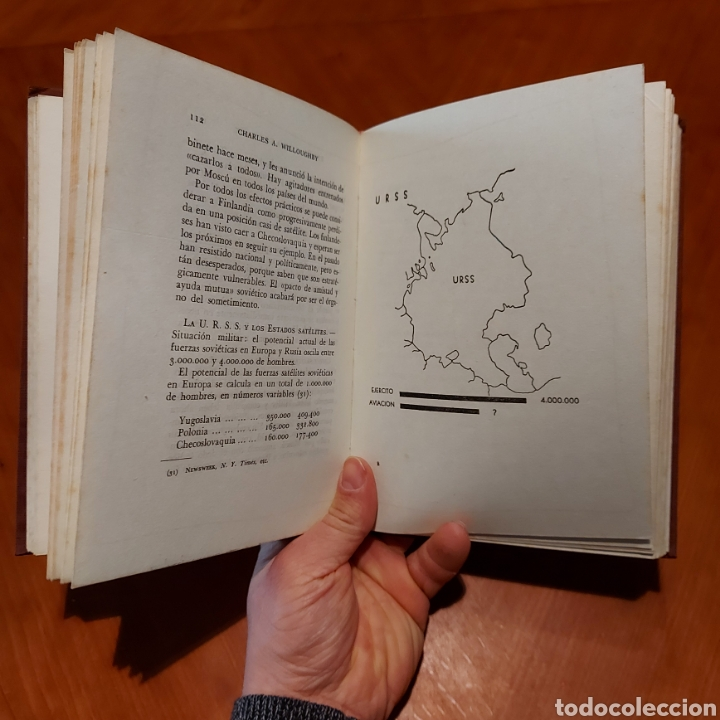 Libros de segunda mano: España Cabeza de Puente Primera Edición 1952 Charles A. Willoughby - Foto 5 - 234903640