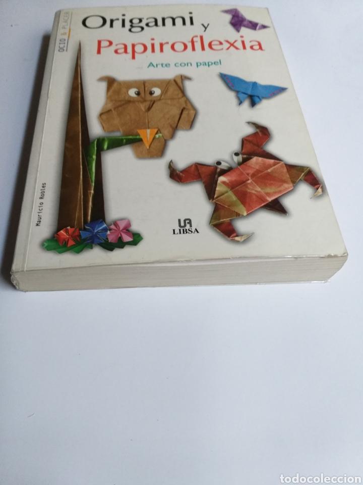 Libros de segunda mano: Origami y papiroflexia. Arte con papel Mauricio Robles . . . Artesanía manualidades - Foto 2 - 234904020