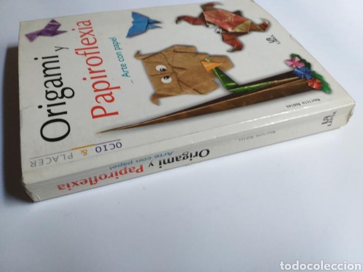 Libros de segunda mano: Origami y papiroflexia. Arte con papel Mauricio Robles . . . Artesanía manualidades - Foto 3 - 234904020