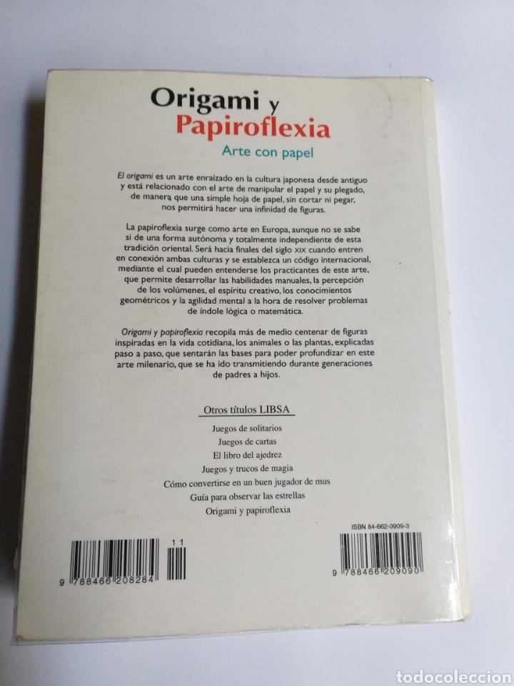 Libros de segunda mano: Origami y papiroflexia. Arte con papel Mauricio Robles . . . Artesanía manualidades - Foto 5 - 234904020