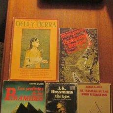 Libros de segunda mano: CINCO LIBROS ESOTERISMO--INCLUYE EL TESTAMENTO DE LOBSANG RAMPA. Lote 234928200