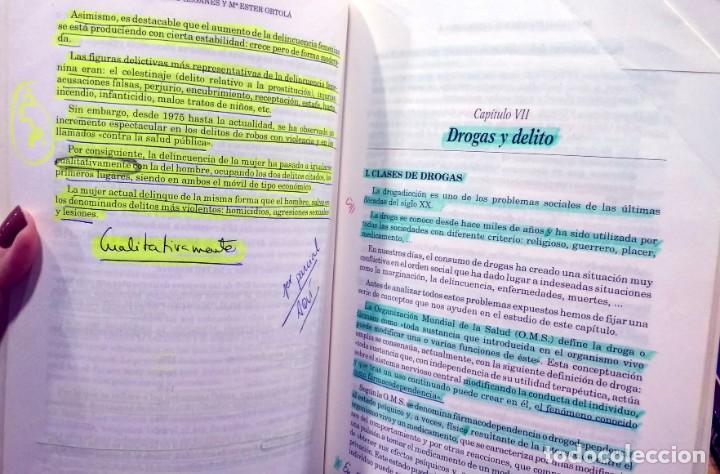 Libros de segunda mano: Criminología. Parte especial. Santiago Leganés Gómez, Mª Ester Ortolá Botella. 1999 - Foto 3 - 234929330