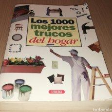 Libros de segunda mano: LOS 1000 MEJORES TRUCOS DEL HOGAR. Lote 234988870