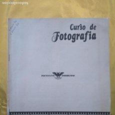 Libros de segunda mano: CURSO DE FOTOGRAFIA - INSTITUTO AMERICANO - 40 PAGINAS. Lote 235015005
