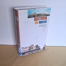 Libros de segunda mano: ANTONIO BRAVO NIETO Y PILAR FERNANDEZ URIEL - HISTORIA DE MELILLA - 2006. Lote 235124145