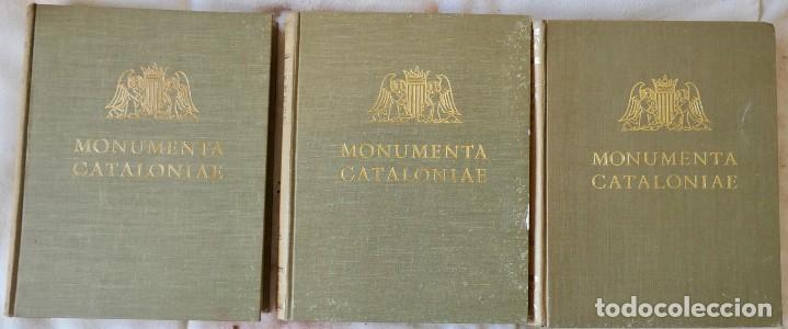 Libros de segunda mano: ARQUITECTURA I ESCULTURA BARROQUES A CATALUNYA - CÈSAR MARTINELL - 3 VOL- EXEM.469-1959/61/63 - Foto 2 - 235130375