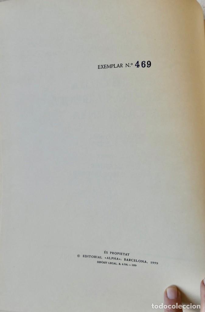 Libros de segunda mano: ARQUITECTURA I ESCULTURA BARROQUES A CATALUNYA - CÈSAR MARTINELL - 3 VOL- EXEM.469-1959/61/63 - Foto 4 - 235130375
