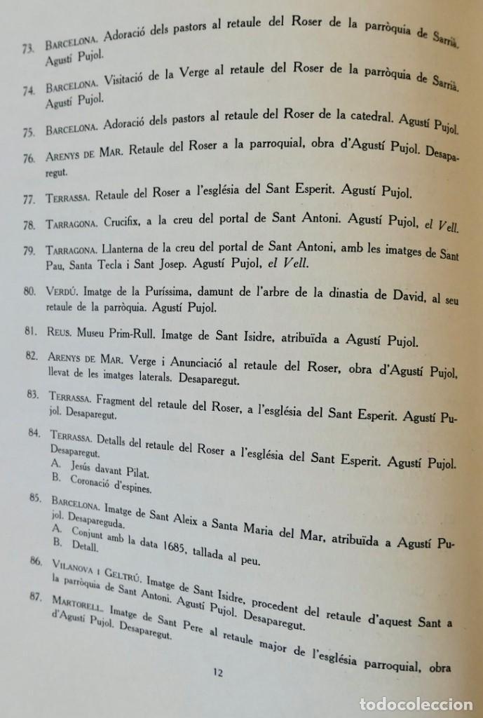 Libros de segunda mano: ARQUITECTURA I ESCULTURA BARROQUES A CATALUNYA - CÈSAR MARTINELL - 3 VOL- EXEM.469-1959/61/63 - Foto 10 - 235130375