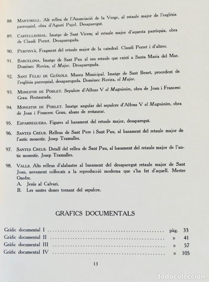 Libros de segunda mano: ARQUITECTURA I ESCULTURA BARROQUES A CATALUNYA - CÈSAR MARTINELL - 3 VOL- EXEM.469-1959/61/63 - Foto 11 - 235130375