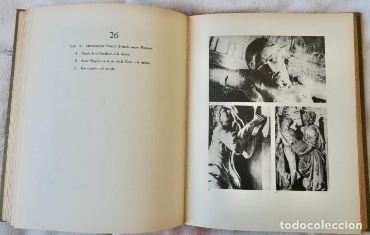 Libros de segunda mano: ARQUITECTURA I ESCULTURA BARROQUES A CATALUNYA - CÈSAR MARTINELL - 3 VOL- EXEM.469-1959/61/63 - Foto 12 - 235130375