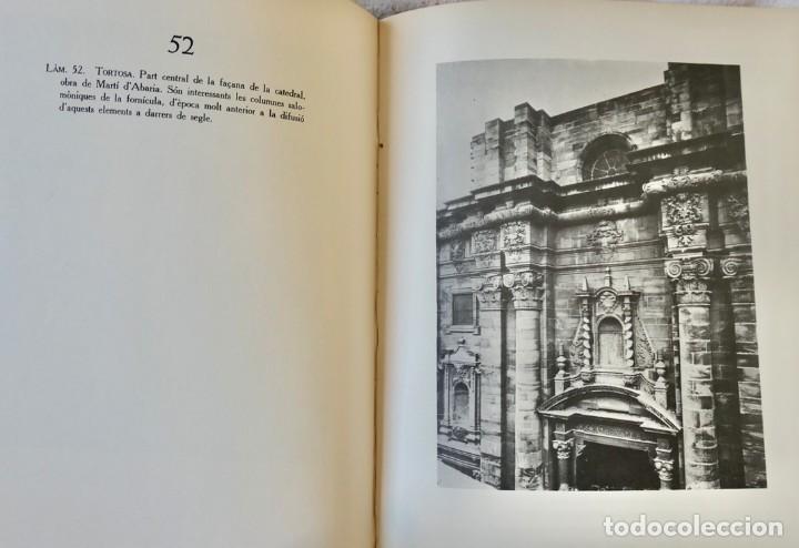Libros de segunda mano: ARQUITECTURA I ESCULTURA BARROQUES A CATALUNYA - CÈSAR MARTINELL - 3 VOL- EXEM.469-1959/61/63 - Foto 13 - 235130375