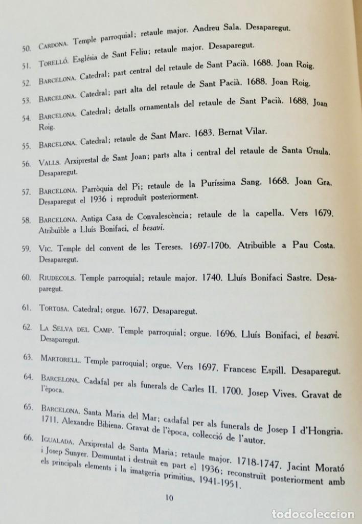 Libros de segunda mano: ARQUITECTURA I ESCULTURA BARROQUES A CATALUNYA - CÈSAR MARTINELL - 3 VOL- EXEM.469-1959/61/63 - Foto 21 - 235130375