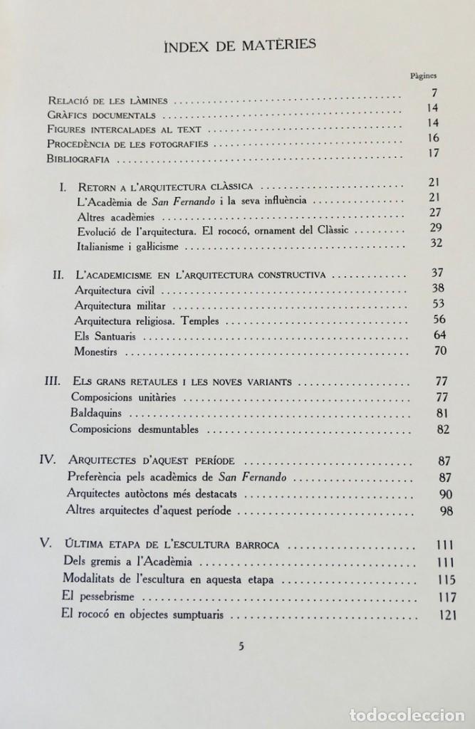Libros de segunda mano: ARQUITECTURA I ESCULTURA BARROQUES A CATALUNYA - CÈSAR MARTINELL - 3 VOL- EXEM.469-1959/61/63 - Foto 30 - 235130375