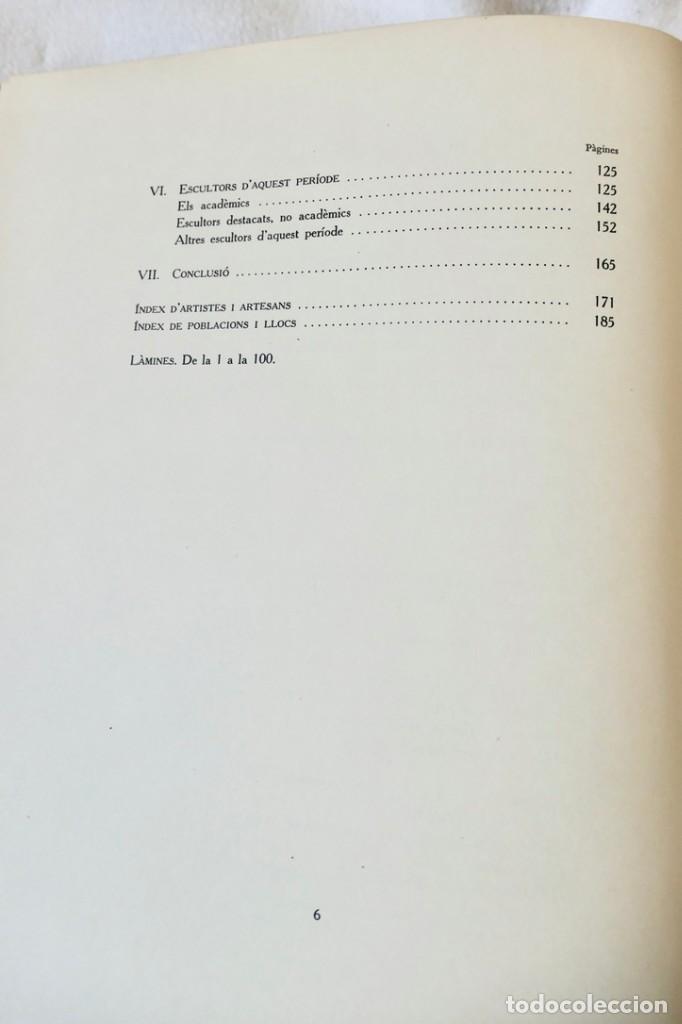 Libros de segunda mano: ARQUITECTURA I ESCULTURA BARROQUES A CATALUNYA - CÈSAR MARTINELL - 3 VOL- EXEM.469-1959/61/63 - Foto 31 - 235130375