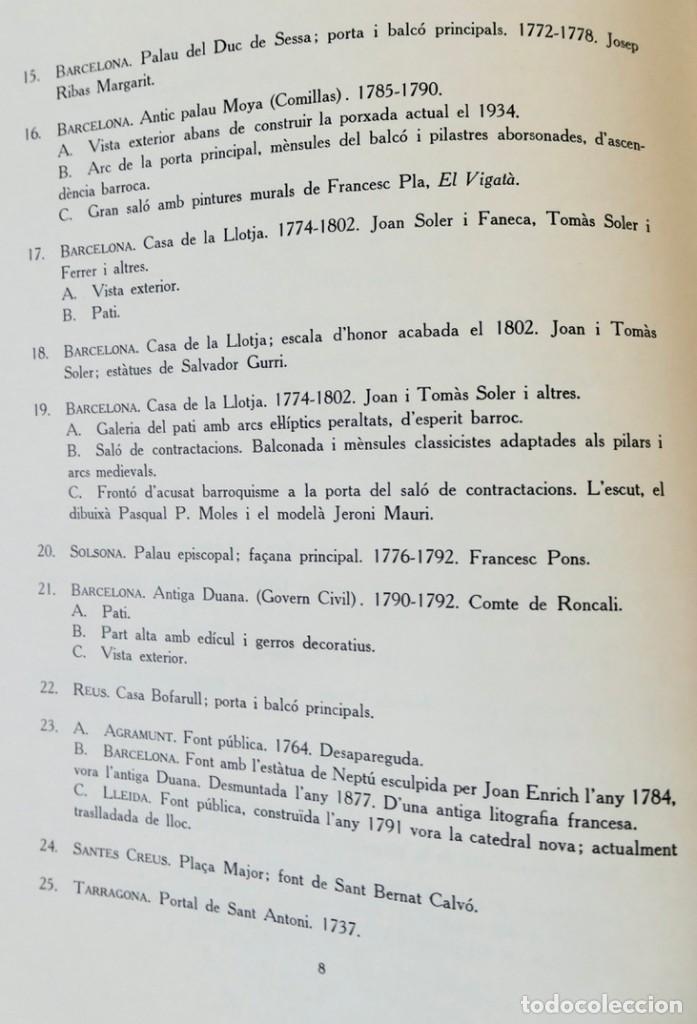 Libros de segunda mano: ARQUITECTURA I ESCULTURA BARROQUES A CATALUNYA - CÈSAR MARTINELL - 3 VOL- EXEM.469-1959/61/63 - Foto 33 - 235130375