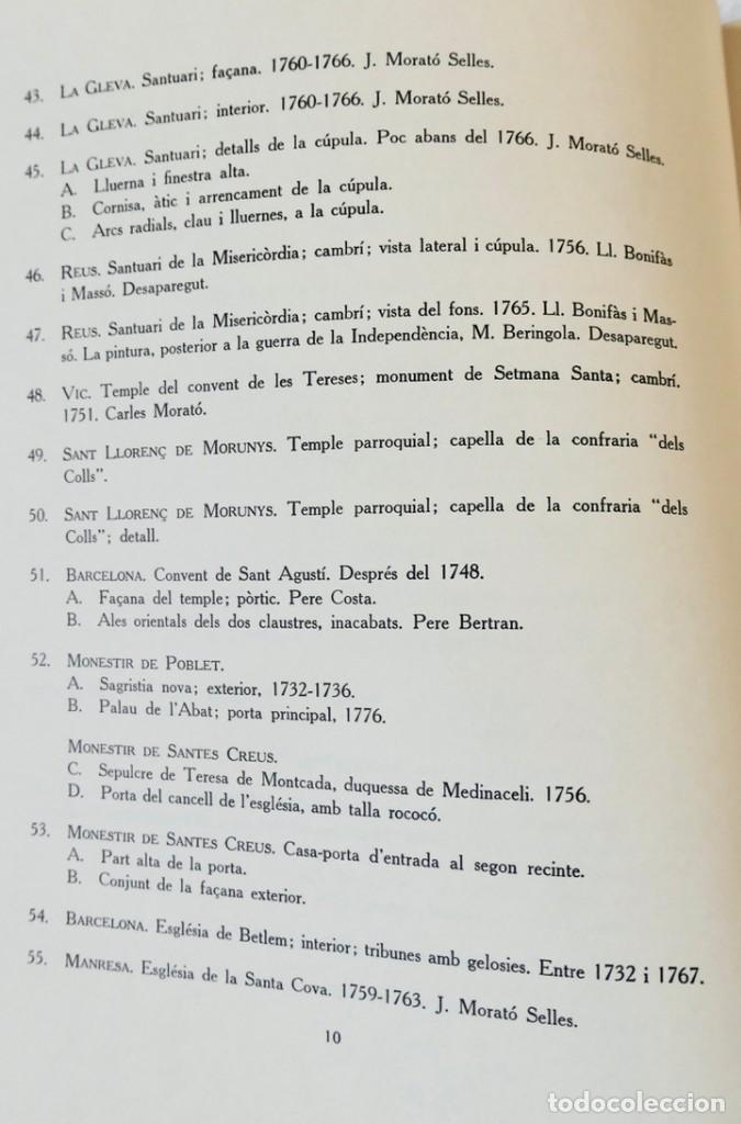 Libros de segunda mano: ARQUITECTURA I ESCULTURA BARROQUES A CATALUNYA - CÈSAR MARTINELL - 3 VOL- EXEM.469-1959/61/63 - Foto 35 - 235130375