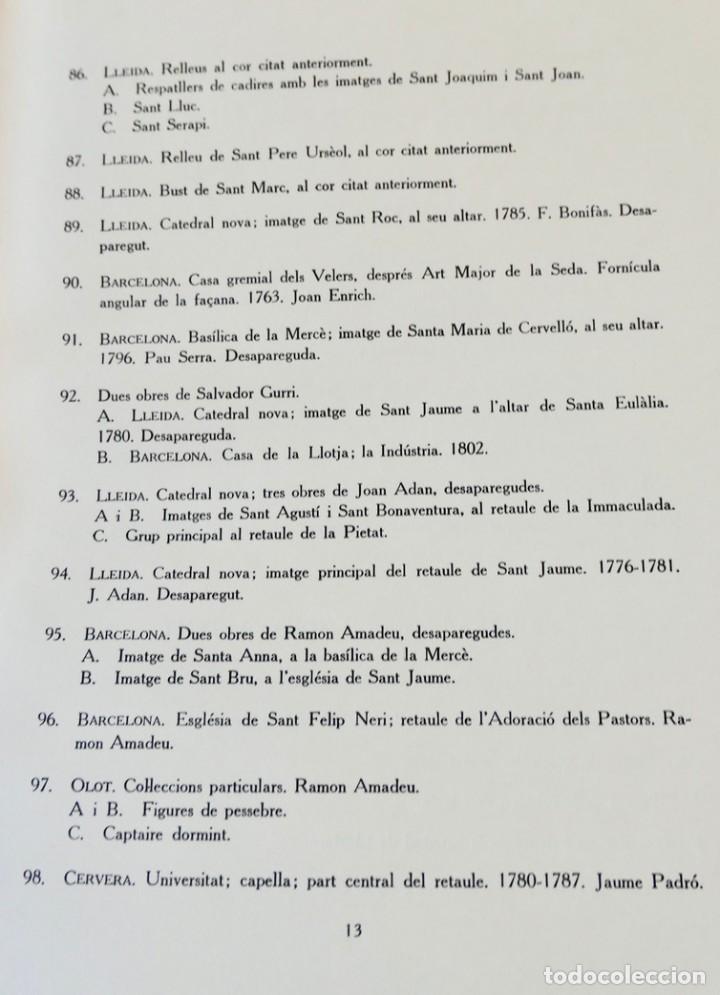 Libros de segunda mano: ARQUITECTURA I ESCULTURA BARROQUES A CATALUNYA - CÈSAR MARTINELL - 3 VOL- EXEM.469-1959/61/63 - Foto 38 - 235130375