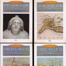 Libros de segunda mano: HISTORIA DE CADIZ - 4 TOMOS - A-CA-3045 ,2. Lote 235137955