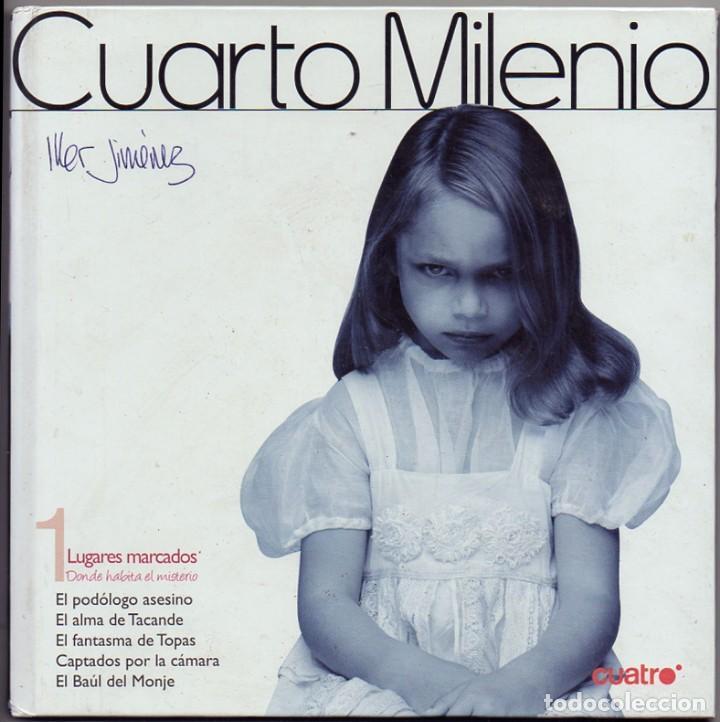 CUARTO MILENIO. Nº 1 LUGARES MARCADOS ( CONTIENE DVD ) - JIMENEZ, IKER. - A-X-1488 (Libros de Segunda Mano - Parapsicología y Esoterismo - Otros)