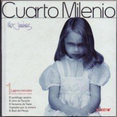 Libros de segunda mano: CUARTO MILENIO. Nº 1 LUGARES MARCADOS ( CONTIENE DVD ) - JIMENEZ, IKER. - A-X-1488. Lote 235157285