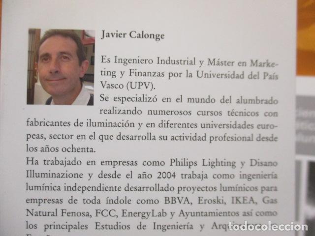 Libros de segunda mano: La eficiencia energética en el alumbrado - Javier Calonge. - Foto 4 - 235214655
