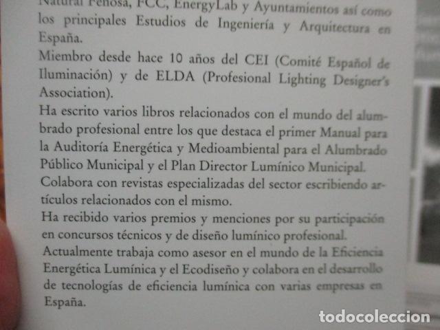 Libros de segunda mano: La eficiencia energética en el alumbrado - Javier Calonge. - Foto 5 - 235214655
