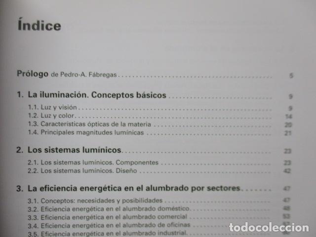 Libros de segunda mano: La eficiencia energética en el alumbrado - Javier Calonge. - Foto 8 - 235214655