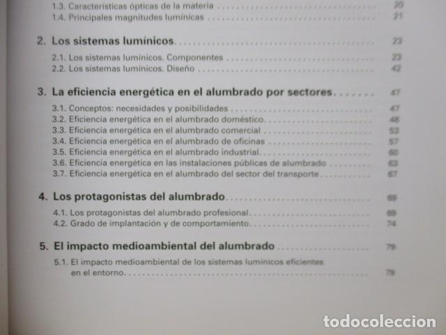 Libros de segunda mano: La eficiencia energética en el alumbrado - Javier Calonge. - Foto 9 - 235214655
