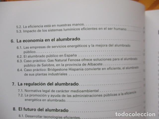 Libros de segunda mano: La eficiencia energética en el alumbrado - Javier Calonge. - Foto 10 - 235214655