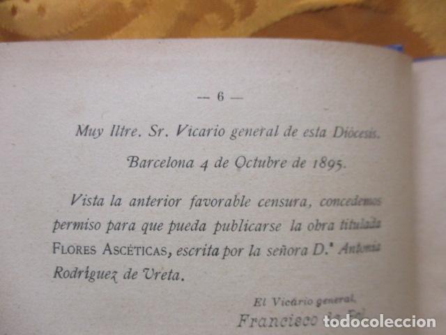 Libros de segunda mano: FLORES ASCÉTICAS ( ANTONIA RODRIGUEZ DE URETA ) - Foto 7 - 235216485