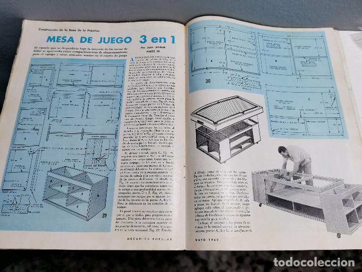 Libros de segunda mano: REVISTA MECANICA POPULAR - MAYO 1962 - 27.5CM X 21CM - PEDIDO MINIMO TOTAL DE ENVIO 6€ - Foto 10 - 204769151